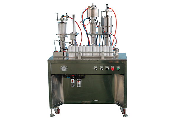 小型气雾剂灌装机